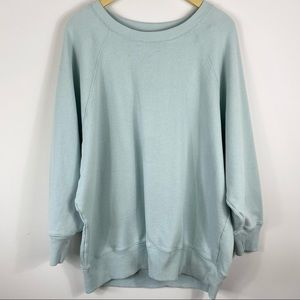 AERIE Light Blue Crewneck Sweater